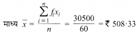 MP Board Class 9th Maths Solutions Chapter 14 सांख्यिकी Ex 14.4 image 6