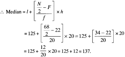 MP Board Class 9th Maths Solutions Chapter 14 Statistics Ex 14.3 img-49