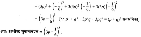 MP Board Class 9th Maths Solutions Chapter 2 बहुपद Ex 2.5 5