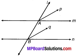 MP Board Class 9th Maths Solutions Chapter 6 रेखाएँ और कोण Ex 6.3 14