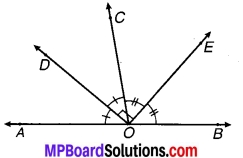 MP Board Class 9th Maths Solutions Chapter 6 रेखाएँ और कोण Ex 6.3 15