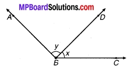 MP Board Class 9th Maths Solutions Chapter 6 रेखाएँ और कोण Ex 6.3 20