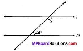 MP Board Class 9th Maths Solutions Chapter 6 रेखाएँ और कोण Ex 6.3 21