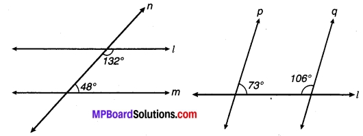 MP Board Class 9th Maths Solutions Chapter 6 रेखाएँ और कोण Ex 6.3 22