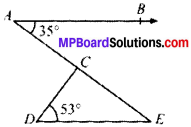 MP Board Class 9th Maths Solutions Chapter 6 Lines and Angles Ex 6.3 img-3
