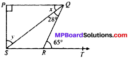 MP Board Class 9th Maths Solutions Chapter 6 Lines and Angles Ex 6.3 img-5