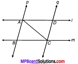 MP Board Class 9th Maths Solutions Chapter 7 त्रिभुज Ex 7.1 4