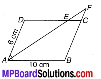 MP Board Class 9th Maths Solutions Chapter 8 चतुर्भुज Additional Questions 1