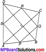MP Board Class 9th Maths Solutions Chapter 8 चतुर्भुज Additional Questions 2