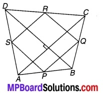 MP Board Class 9th Maths Solutions Chapter 8 चतुर्भुज Additional Questions 3