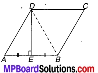MP Board Class 9th Maths Solutions Chapter 8 चतुर्भुज Additional Questions 7