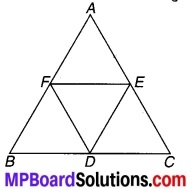 MP Board Class 9th Maths Solutions Chapter 8 चतुर्भुज Additional Questions 8