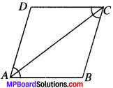 MP Board Class 9th Maths Solutions Chapter 8 Quadrilaterals Ex 8.1 img-1