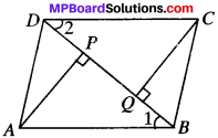 MP Board Class 9th Maths Solutions Chapter 8 Quadrilaterals Ex 8.1 img-12