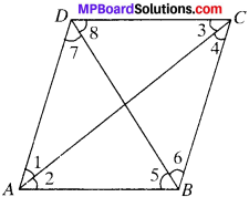 MP Board Class 9th Maths Solutions Chapter 8 Quadrilaterals Ex 8.1 img-8
