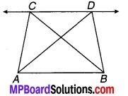 MP Board Class 9th Maths Solutions Chapter 9 समान्तर चतुर्भुज और त्रिभुजों के क्षेत्रफल Additional Questions 11