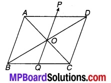 MP Board Class 9th Maths Solutions Chapter 9 समान्तर चतुर्भुज और त्रिभुजों के क्षेत्रफल Additional Questions 3