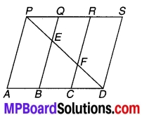MP Board Class 9th Maths Solutions Chapter 9 समान्तर चतुर्भुज और त्रिभुजों के क्षेत्रफल Additional Questions 5