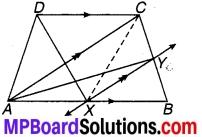 MP Board Class 9th Maths Solutions Chapter 9 समान्तर चतुर्भुज और त्रिभुजों के क्षेत्रफल Ex 9.3 13