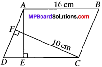 MP Board Class 9th Maths Solutions Chapter 9 Areas of Parallelograms and Triangles Ex 9.2 img-2