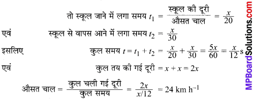 MP Board Class 9th Science Solutions Chapter 8 गति image 11