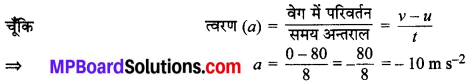 MP Board Class 9th Science Solutions Chapter 9 बल तथा गति के नियम image 10