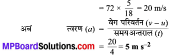 MP Board Class 9th Science Solutions Chapter 9 बल तथा गति के नियम image 5