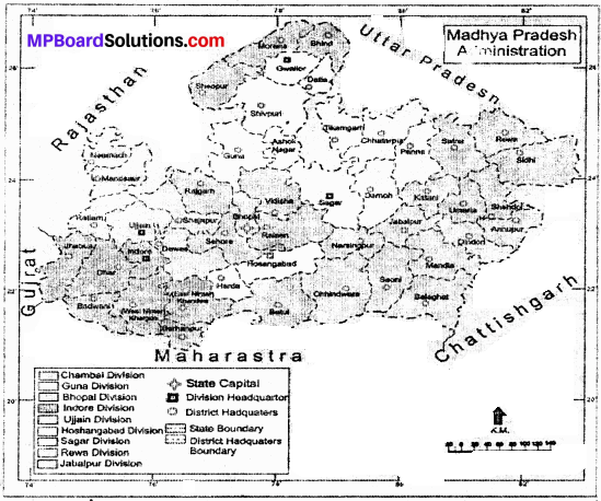 MP Board Class 9th Social Science Solutions Chapter 8 Map Reading and Numbering - 8 - Copy