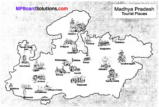 MP Board Class 9th Social Science Solutions Chapter 8 Map Reading and Numbering - 9 - Copy
