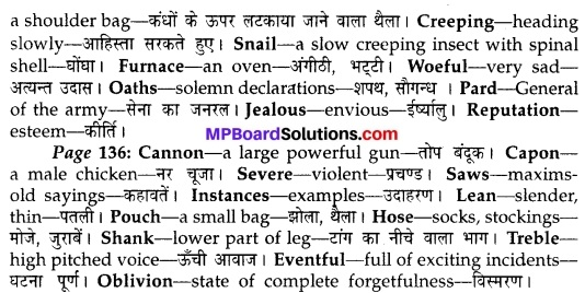 MP Board Class 10th English The Rainbow Solutions Chapter 16 All the World's a Stage 2