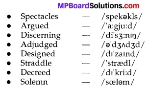 MP Board Class 10th English The Rainbow Solutions Chapter 7 Report of An Adjudged Case 4
