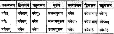 MP Board Class 10th Sanskrit व्याकरण धातु रूप-प्रकरण img 23
