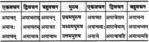 MP Board Class 10th Sanskrit व्याकरण धातु रूप-प्रकरण img 30