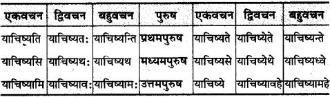 MP Board Class 10th Sanskrit व्याकरण धातु रूप-प्रकरण img 31