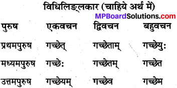 MP Board Class 10th Sanskrit व्याकरण धातु रूप-प्रकरण img 4