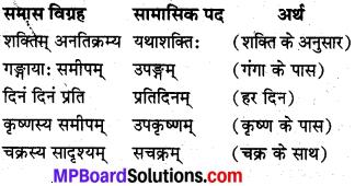 Sanskrit Samas Class 10 MP Board