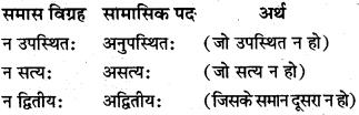 Samas Vigrah In Sanskrit MP Board Class 10th