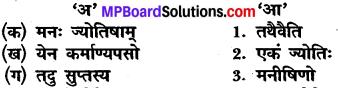 Class 10 Sanskrit Mp Board