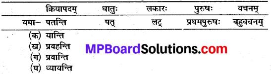 Mp Board Class 10th Sanskrit Chapter 12