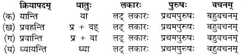 Class 10 Sanskrit Chapter 12 Mp Board
