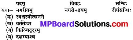 Class 10 Sanskrit Chapter 20 Mp Board