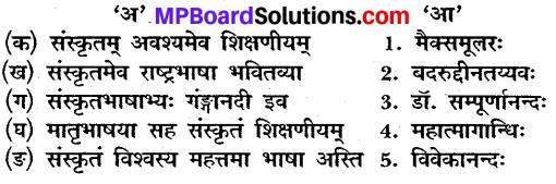 MP Board Class 10th Sanskrit Solutions Chapter 7 विश्वभारतीयम् img 1