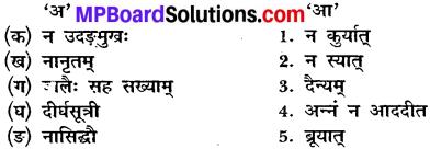 MP Board Class 10th Sanskrit Solutions Chapter 8 सद्वृत्तम् img 1