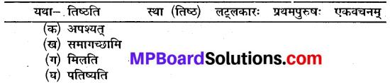Mp Board Class 10 Sanskrit Chapter 9