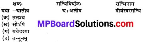 Class 10th Sanskrit Chapter 9 MP Board