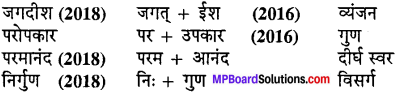 MP Board Class 10th Special Hindi भाषा बोध img-2