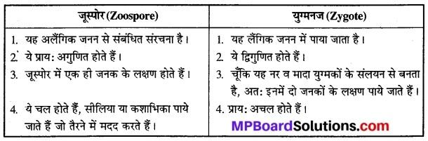 जीवों में जनन क्लास 12th MP Board Chapter 1