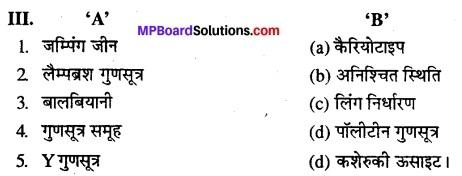 MP Board Class 12th Biology Solutions Chapter 5 वंशागति और विविधता के सिध्दांत 17