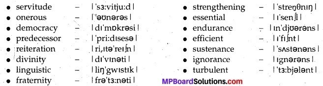 MP Board Class 12th English A Voyage Solutions Chapter 12 Youth and the Tasks Ahead img 3