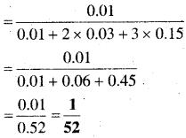 MP Board Class 12th Maths Book Solutions Chapter 13 प्रायिकता Ex 13.3 img 6